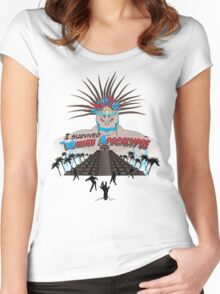 Mayan Apocalypse Women's Fitted Scoop T-Shirt
