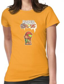 Paper Samus (Varia Suit Ver.) Womens Fitted T-Shirt