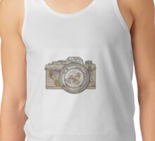 MAP OF THE WORLD ON CAMERA Tank Top