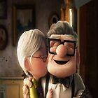 carl and ellie; check kiss by shoshgoodman