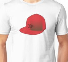"""30¢"" Red Cap Unisex T-Shirt"