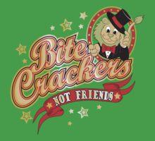 BITE CRACKERS NOT FRIENDS Kids Tee