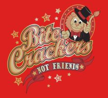BITE CRACKERS NOT FRIENDS Baby Tee