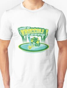 I WARNED YOU BROCCOLI STAY OFF MY PLATE!! Unisex T-Shirt