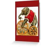 Circus Elephant General Greetings Greeting Card