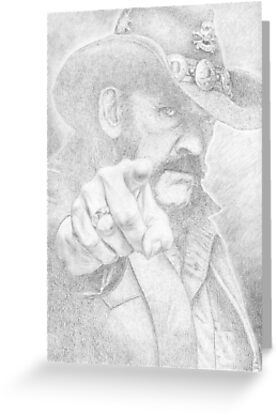 Lemmy from Motorhead by PencilPushers