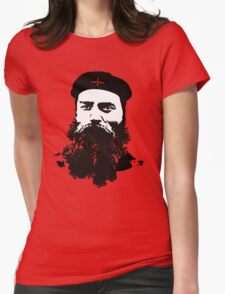 Ned Kelly Meets Che - any colour shirt Womens Fitted T-Shirt