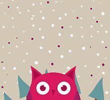 Cute owl by ashkenazigal