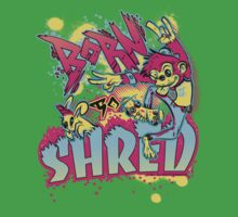 BORN TO SHRED Baby Tee