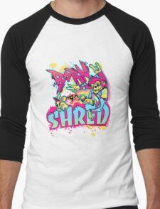 BORN TO SHRED Men's Baseball ¾ T-Shirt