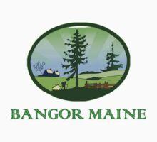 Bangor Maine truck stop novelty tee  One Piece - Short Sleeve