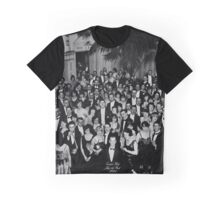 The Shining Overlook Hotel July 4th Ball Black and white Graphic T-Shirt