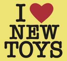 I HEART NEW TOYS Kids Clothes