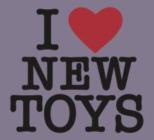 I HEART NEW TOYS Kids Tee