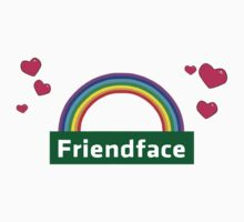 The IT Crowd – Friendface Logo by PonchTheOwl