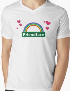 The IT Crowd – Friendface Logo Mens V-Neck T-Shirt