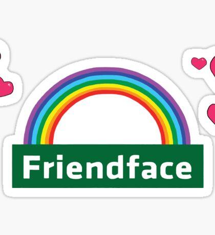 The IT Crowd – Friendface Logo Sticker