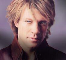 Jon Bon Jovi by John Thompson