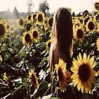 sunflower girl by shoshgoodman