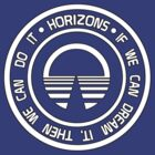 Epcot Button Horizons White by AngrySaint