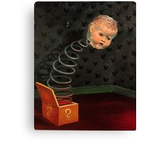 Pop Goes the Baby Canvas Print
