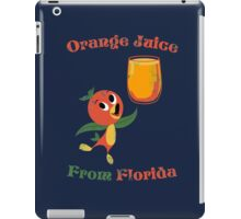 Orange Juice From Florida iPad Case/Skin