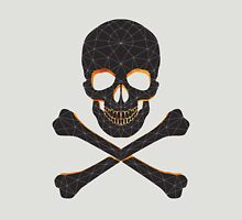 Skull and crossbones  danger warning  Unisex T-Shirt