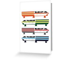 The Monorail System Greeting Card