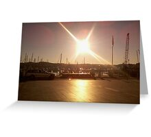 Sunshine Reflection Greeting Card