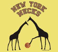 New York Necks (giraffe pattern for light-colored shirts) Kids Clothes