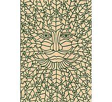 Green Man - 2 Photographic Print