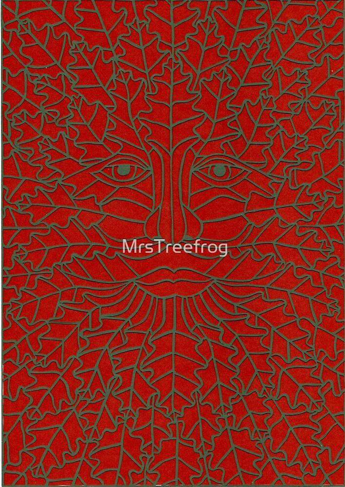 Green Man - 4 by MrsTreefrog