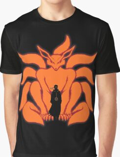 Kurama Chakra Mode Graphic T-Shirt