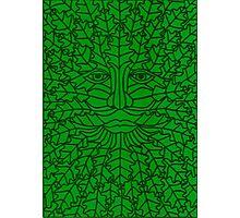 Green Man - 5 Photographic Print
