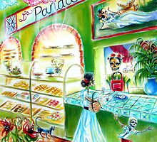 Day of the Dead La Panadería by HCalderonArt