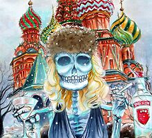 Day of the Dead Mi Vodka by Heather Calderon