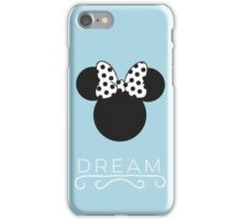 Dream Minnie- Baby Blue (phone fit) iPhone Case/Skin