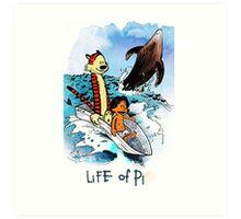 Calvin And Hobbes Art Print