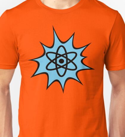 Dynamic Atomic symbol cartoon style science geek gifts Unisex T-Shirt