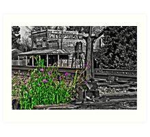 SW & CS Davis Forge Art Print