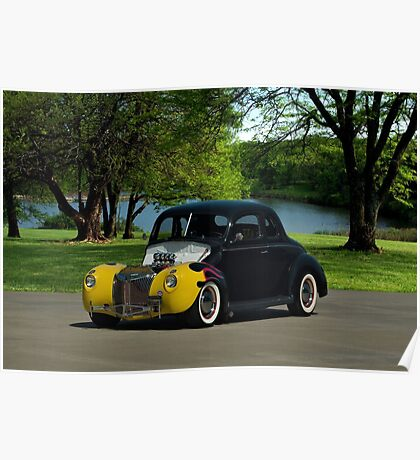 1939 Ford Hot Rod Poster