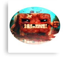 Angry Super Meat Boy Canvas Print