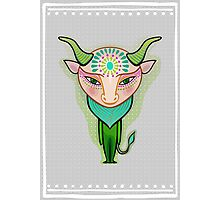 taurus zodiac sign Photographic Print