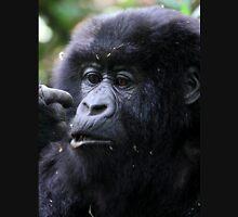 Juvenile Mountain Gorilla, Kwitonda Group, Rwanda, East Africa Unisex T-Shirt
