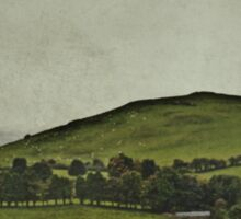 When Evening In The Shire Was Grey Sticker