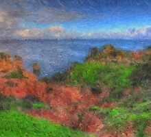 The Clifftop Ravine by ManateesDesign