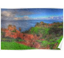 The Clifftop Ravine Poster
