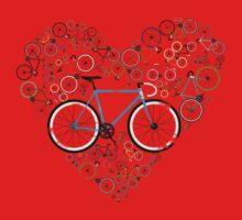 I Love My Bike One Piece - Short Sleeve