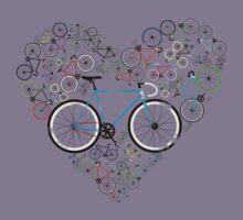 I Love My Bike Kids Tee