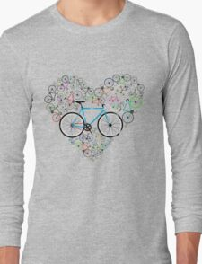 I Love My Bike Long Sleeve T-Shirt